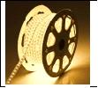 С/д лента 230V  5730-60-12.0-230В-IP67-3  3000К теплая Лента светодиодная GLS-5730-60-12-220-IP67-3 катушка 50м + шнур питания