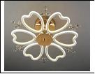 "Люстра ""LED 6"" LED-White светильник потолочный 373/6YT WT+FG LED 13/12W 6500/3000K 710*200  с ПДУ"
