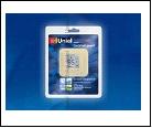 Диммер сенсорный 220В 500Вт IP00 UNIEL  USW-001-LCD-DM-40/-TM-M-BG Выключатель с регулятором яркости лампы (димм