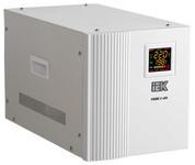 Стабилизатор симисторный  5 000ВА (4.0кВт) ИЭК раб. вх. 90В - 280В (90в-50% мощности) напряжения переносной серии Prime