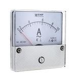 Амперметр AM-A801 аналоговый на панель 80х80 (круглый вырез) 100А трансформаторное подключение ЭКФ