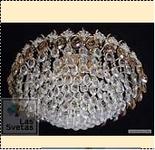 """Люстра """"рожки.с хруст 6"""" .. светильник потолочный 7216/6E d550"""