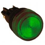 EKF_Лампа сигнальная ENS-22 зеленая 220В_(10/600), la-ens-g-220