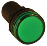 EKF_Лампа сигнальная Светодиодная матрица AD16-22HS красная_(10/500), ledm-ad16-r