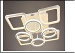 """Люстра """"LEDсветильник потолочный 5052/4+4Y (2) WT LED 11/12/18W 3000/6500K 645*645*150  с ПДУ"""
