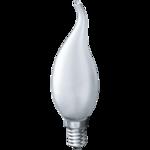ЛОН (B) Е14 60Вт FR свеча на ветру матовая NAVIGATOR