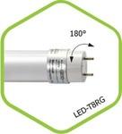 ЛСД G13 T8  18Вт 4000K 220В ASD лампа светодиодная матовая  1440Лм матовая standart ASD (1/25)
