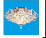 """Люстра """"хруст.на цепи 9"""" .. светильник потолочный 24724/9CR WT Потолочные хрусталь"""