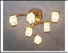 """Люстра Хай-Тек 6"""" LED-RGB светильник потолочный 7210/6Y FGD d680*190 G4 RBP"""