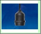 ULH-E27-IP54-15cm Патрон подвесной с защитой IP54. Цоколь Е27. TM Uniel., шк 4690485099659