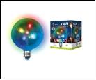 Диско- лампа ULI-Q31 1,5W/RGB/Е27 ДИСКО ШАР 3D Светодиодный светильник. Свечение 3D звёзды. 22В. Диаметр 1см. ТМ Volpe., шк 599955831941