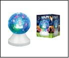 Диско- шар ULI-Q311 3,5W/RGB WHITE Светодиодный светильник-проектор. Кабель с вилкой, 22В. Диаметр 1см. Белый. ТМ Volpe., шк 5999558319434