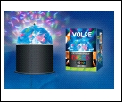 Диско- шар Украшение Светодиодный светильник-проектор ULI-Q32. Серия DISCO, многоцветный. ТМ VOLPE. Напряжение 22В. Кабель с вилкой (в комплекте) Цвет