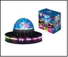 Диско- шар  Украшение Светодиодный светильник-проектор ULI-Q35 3,5W/RGB BLACK Напольный Серия DISCO, многоцветный Горизонтальная и вертикальная проек