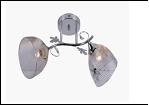 """Люстра """"ретро металл 2"""" .. светильник потолочный 9776/2DA (10) CR E27 500*250*230"""