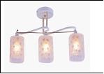 """Люстра """"рожки разн. 3"""" .. светильник потолочный 9783/3B-DA (6) WT+FGD E27 510*120*270"""