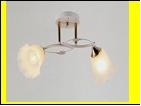 """Люстра """"рожки разн. 2"""" .. светильник потолочный 7015/2C (10) WT+FG E27 485*160*240"""