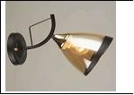 Бра 1-рожк. светильник 78756/1W (20) BK+FGD E27 бра
