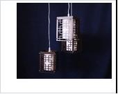 """Люстра """"ретро абажур 3"""" .. светильник потолочный 1269/3 CR (4)"""
