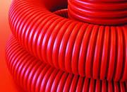 Труба двустенн., D.внеш= 50мм, для эл.проводки гибк, c протяжк,DKC 121950 Уп100м.