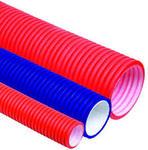 Труба двустенн., D.внеш=110мм, для эл.проводки гибк, c протяжк, ИЭК/DKC 121911.Уп.50м, кратно упаковке