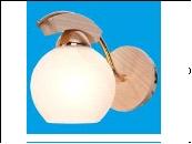 Бра 1-рожк. светильник G31034/1wFGD Потолочные дерево Распродажа