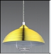 """Люстра """"модерн D=400"""" .. светильник потолочный 8301 -1 CP (медь) E27 1x60W  Абажур лифт L40 W40 H65"""