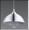 """Люстра """"модерн D=400"""" .. светильник потолочный 8301 -1 Silver (серебро)  E27 1x60W  Абажур лифт L40 W40 H65"""