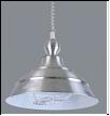 """Люстра """"модерн D=400"""" .. светильник потолочный 8310 -1 Silver (серебро)  E27 1x60W  Абажур лифт L42 W42 H65"""