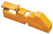 "Шины нул. ИЗОЛЯТОР DIN синий/желтый ""ЭКФ""/ИЭК(крепеж) на 35-мм динрейку"