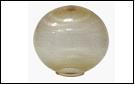 Св.улич. шар Ø200 золото светильник D=200  с огранкой  оргстекло, , в комплекте с основанием из пластика ABS и керамическим патроном ,(1/20)