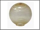 Св.улич. шар Ø250 золото . светильник Е27 D=250  с огранкой  оргстекло,  в комплекте с основанием из пластика ABS и керамическим патрономSPU250B-LH-GD