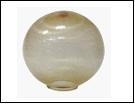 Св.улич. шар Ø300 золото светильник Е27 D=300  с огранкой  оргстекло,  в комплекте с основанием из пластика ABS и керамическим патроном(1/8)