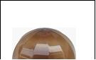 Св.улич. шар Ø250 золото светильник Е27 D=250 шоколад с огранкой  Декоративный  оргстекло,  в комплекте с основанием из пластика ABS и керамическим па