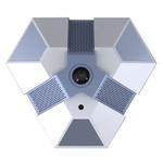 """В/к внутр.купольн IP1920х1080 1,8мм BSP 0146 2MP-DOM-1.8 Внутренняя фишай IP65 FullHD IP-камера.Сенсор: 1/2.8"""" SONY Exmor IMX222 CMOS.Основной поток:"""