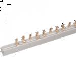 Шина соедин.PIN 2п 100А. 54мод/18мм Шина соединительная типа PIN (штырь) 2ф  (1м)