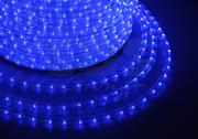 Дюралайт LED   2,0Вт синий круг 36LED/м 13мм 2-х жильный 100м (кратность резки 2м)