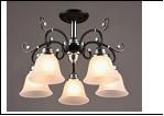 """Люстра """"рожки разн. 5"""" .. светильник потолочный 5746/5C (4) AB E27 530*360"""