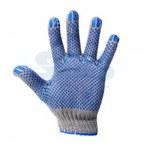Перчатки Х/Б с покрытием ПВХ (Актив) 3нити, 32-34гр