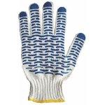 Перчатки ХБ с покрытием ПВХ (волна),5 нитей, 54-56гр. REXANT #(/)