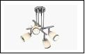 Спот 4-рожк. G9 светильник ВМ385 потолочный метал+стекло мах 40W Хром 4шт