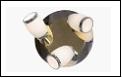 Спот ВМ389 Светильник потолочный метал+стекло G9*3 мах 40W Хром 4шт поворотный