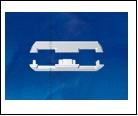 Компл. UFE-N08 SILVER B POLYBAG Набор аксессуаров для алюминиевого профиля. Заглушки (4 шт., пластик). Цвет серебро. ТМ Uniel., шк 4690485082699