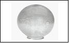 Св.улич. шар Ø200 прозрачный . светильник Е27 D=200 прозрачная огранка   SPU200B-LH-CLPR ()(1/20)