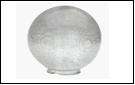 Св.улич. шар Ø300 прозрачный светильник Е27 D=300 прозрачная огранка  Светильник SPU300B-LH-CLPR ()(1/8)