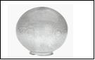 Св.улич. шар Ø350 прозрачный светильник Е27 D=350 прозрачная огранка  Светильник SPU350B-LH-CLPR  (1/4)