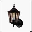 Св.улич. наст.(вверх) черный Е27 VIVID-LIGHT  40Вт ... светильник A106-WU BK Садово-парковый  L54 W36 H38
