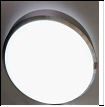 Св. комн. LED круг  24Вт бел. 3200/9800К IP20 VIVID-LIGHT 1002/400 .D=400mm светильник 24W  350*400*80.5  2*24W 9800K+3200K