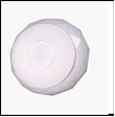 Св. комн. LED круг  24Вт бел. 3200/9800К IP20 VIVID-LIGHT 864-2/400 .D=400mm светильник 864-2 350-400  24W  350*400*50  2*24W 9800K+3200K