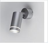 Св. комн.7вт. LED светильник MRL  1005 /  настенный  Glory SW серебро